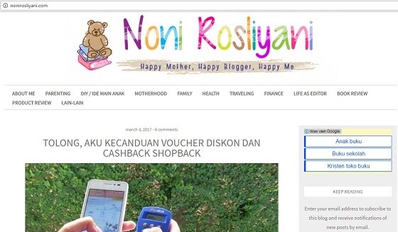 Noni Rosliyani: Her Life As An Editor And A Mommy
