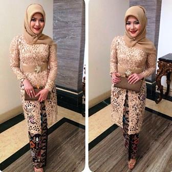 Model Baju Kebaya Muslim Untuk Ibu Masa Kini