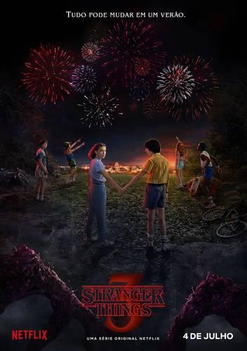 Poster Stranger Things 3ª temporada