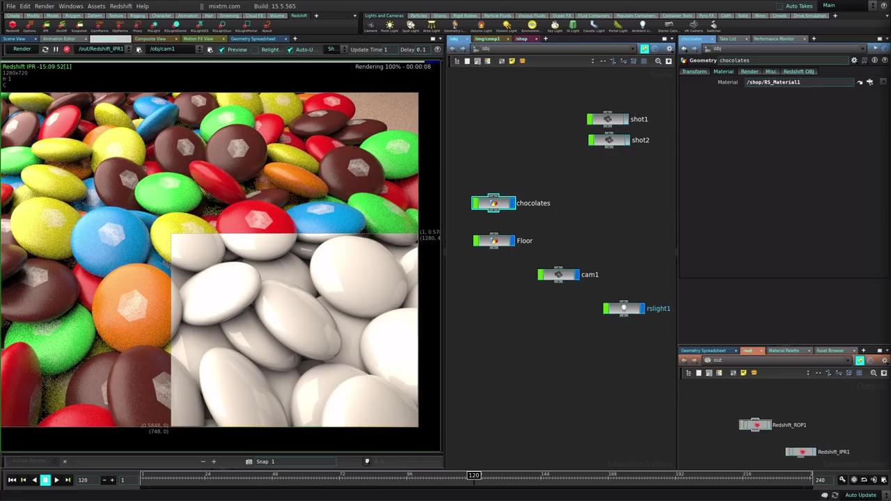 Rendering With Redshift in Houdini | Introduction | CG TUTORIAL