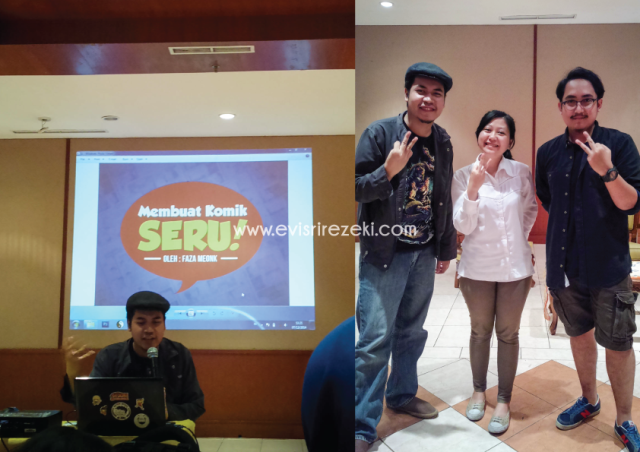 Dokumentasi salah satu sub acara Festival Pembaca Indonesia