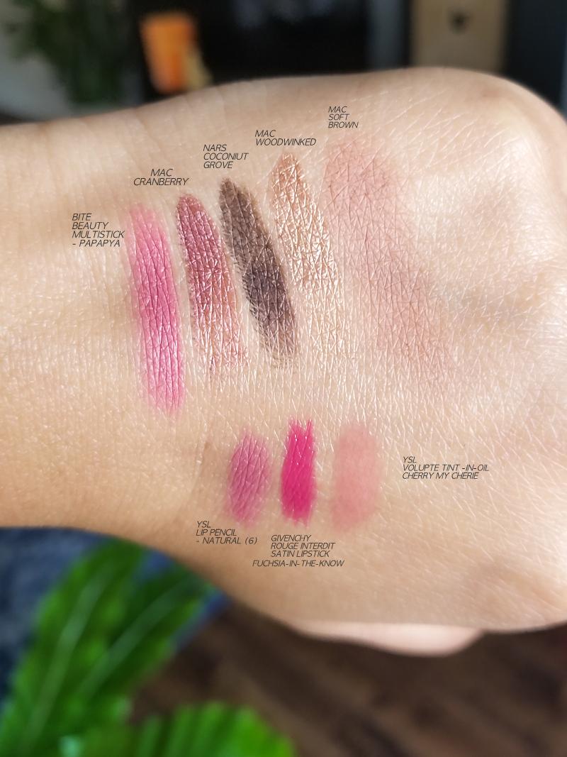 Easy Fall Winter Makeup Tutorial Steps - Cranberry Eyeshadow - Fuchsia Pink Lips