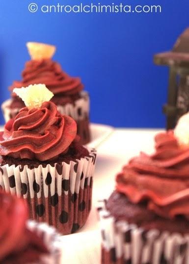 Devil's Cupcakes allo Zenzero