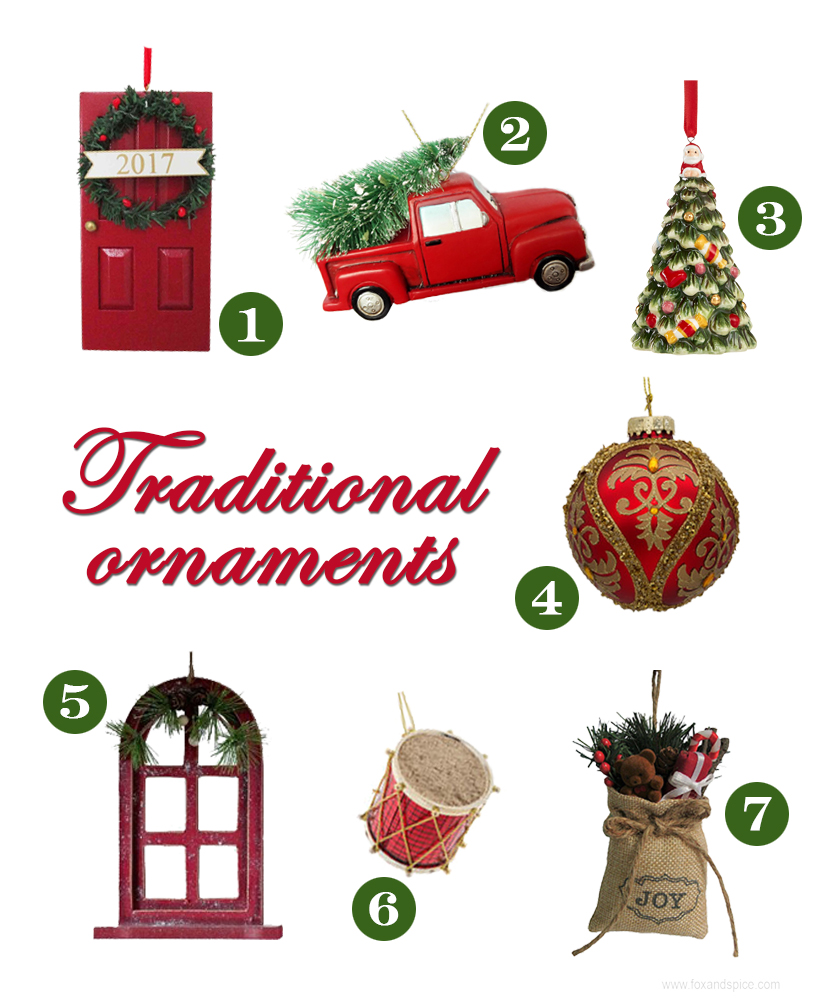 Fox and Spice: Christmas Decor Roundup 2017 // Traditional