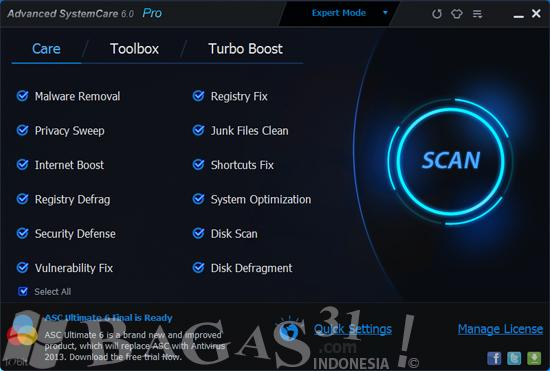 Advanced SystemCare Pro 6.0 Full Serial 3