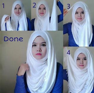 Tutorial Memakai Hijab Untuk Pipi Tembem Wajah Bulat