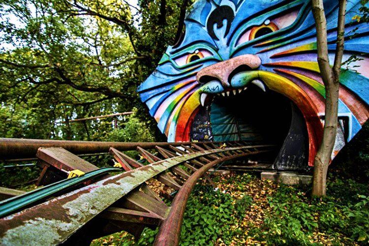 Spree parkı, Sovyetler birliği yönetimi altındaki Doğu Almanya'da bulunan tek eğlence parkıydı.