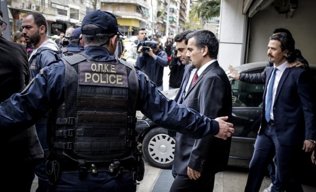 Σε επιφυλακή η ΕΛ.ΑΣ για τους «8» μετά τις απειλές της Άγκυρας