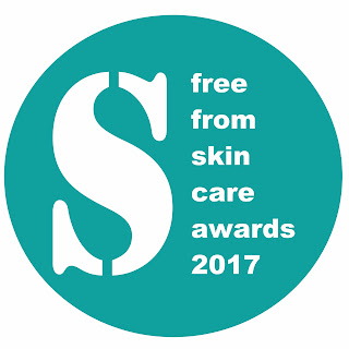 Shortlist for the 2017 Free From Skincare Awards