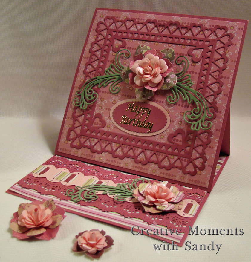 Floral Heart Card - Cheery Lynn Designs Inspiration Blog