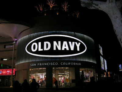 OLD NAVYの店