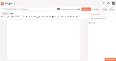 Cara Membuat Menu Bar Dengan Meggunakan Labels/Pages/Laman