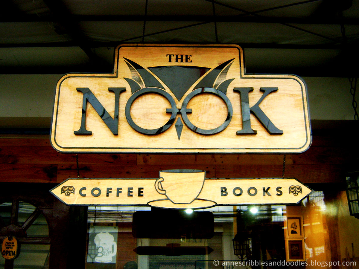 Nook Cafe, Maginhawa Street: Harry Potter Themed Cafe