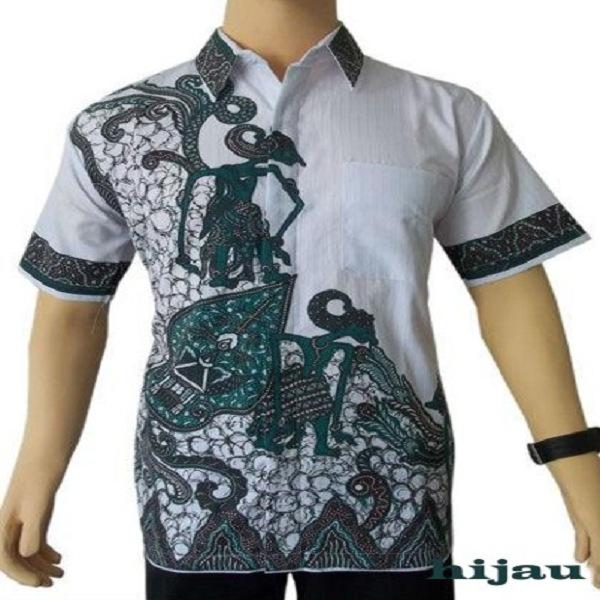 Gambar Batik Lengan Panjang Pria: Model Baju Batik Pria Lengan Panjang Modern Modis Terbaru