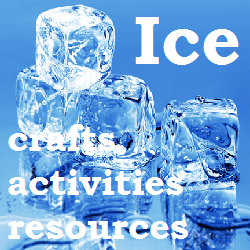 Ice crafts, activities and resources for toddlers