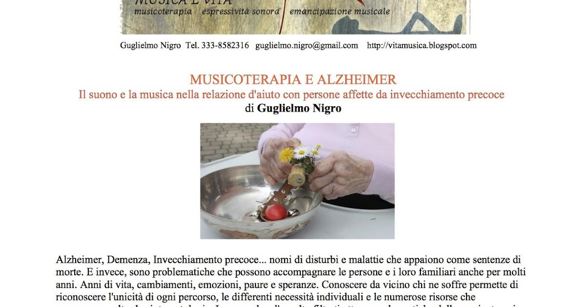 Musicoterapia e Alzheimer - Domande 03