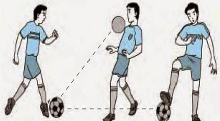 Menghentikan atau mengontrol bola (control ball)