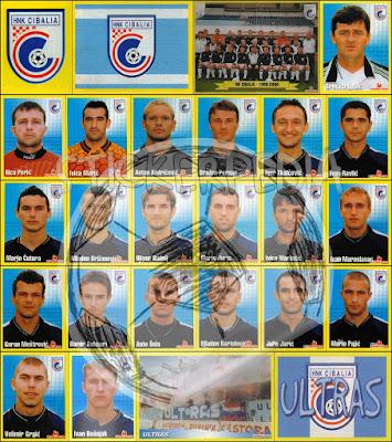 Nogomet HNL sličice 1999/2000
