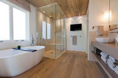 แบบห้องน้ำไม้