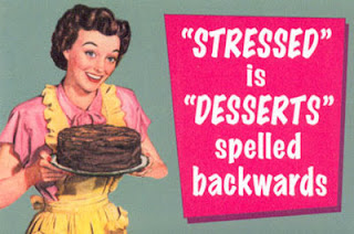 stressed motto