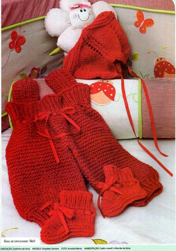 Perfecto Patrón De Los Pantalones De Crochet Modelo - Manta de Tejer ...