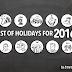 Philippine Holidays 2016 | Plan Ahead
