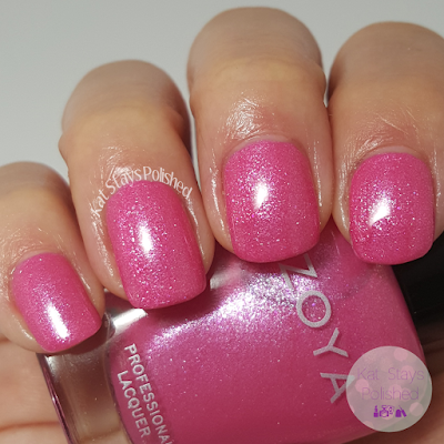 Zoya Petals 2016 - Azalea | Kat Stays Polished