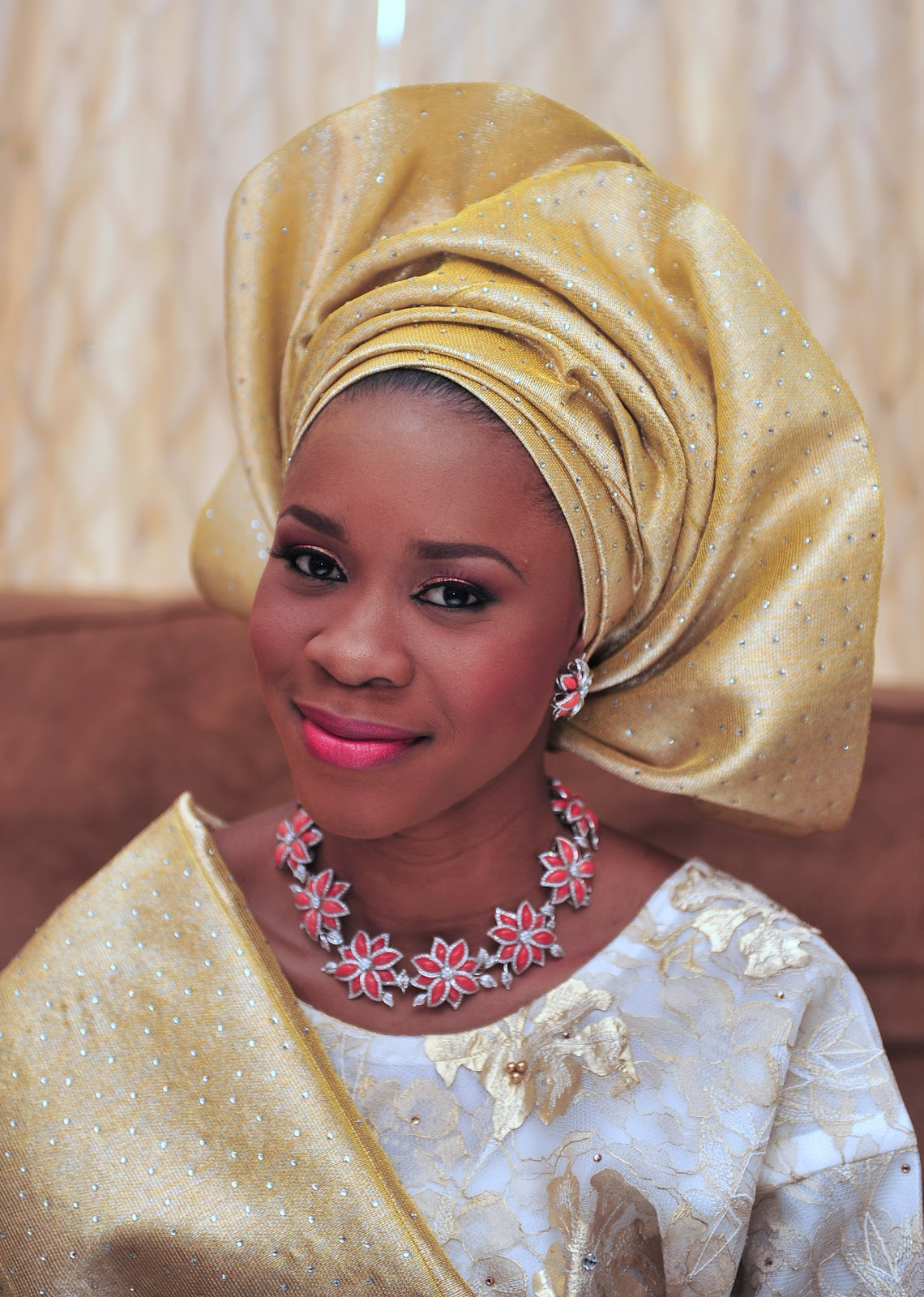 17 Pretty Makeup Ideas With Pastel Colors: 17 Pretty Perfect Sequin Gele Head-Ties