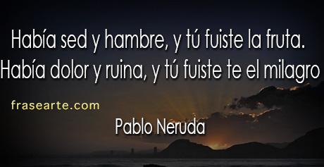 Pablo Neruda - Eres amor