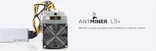 Antminer L3+ - Panduan memulai Mining Bitcoin bagi pemula
