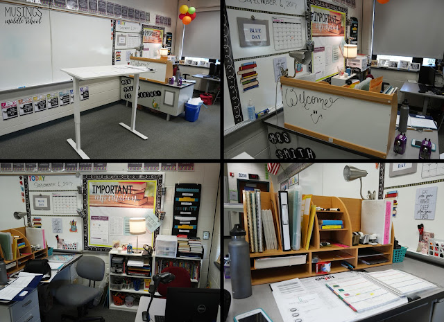 Pictures of my Teacher Workstation
