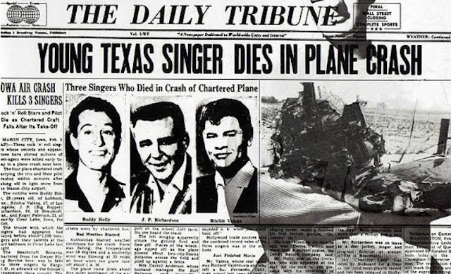 Holly, Valens y Bopper: La tragedia que los convirtió en leyendas