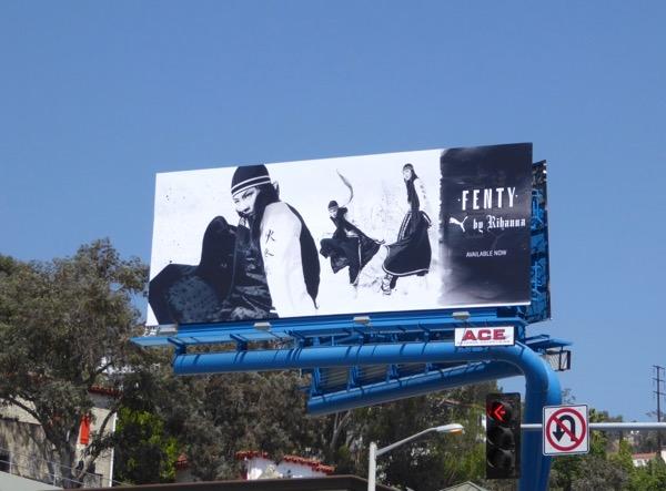 Fenty Puma Rihanna 2016 billboard