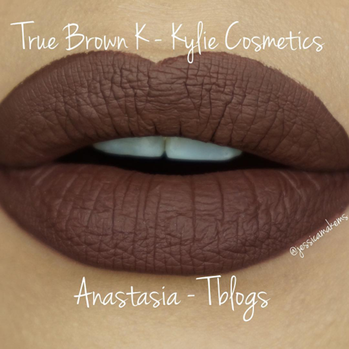 Dupe do batom True Brown K da Kylie Cosmetics