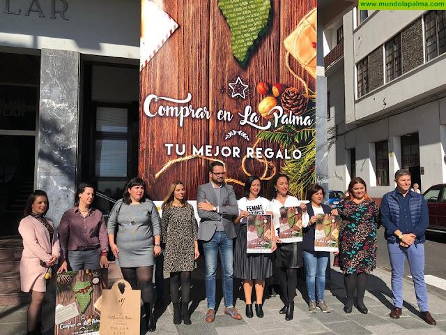Los comercios de La Palma hacen un balance positivo de la campaña de Navidad impulsada por la Consejería de Comercio del Cabildo