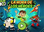 Ben 10 La hora de los heroes