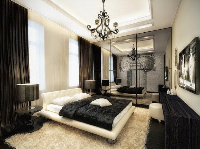 c12621d9f81 30 Exquisite Black Interior Walls   Furniture Designs - Decor Units