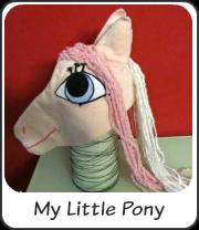 Disfraz de My Little Pony casero