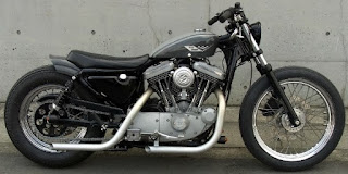sportster 1200 s bobber side right