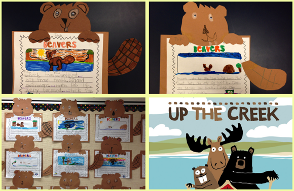 Beaver activities by www.GradeONEderful.com