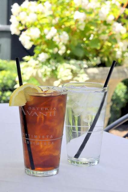 Iced-Tea-Water-Osteria-Avanti-at-The-Inn-at-Leola-Village-Leola-PA-tasteasyougo.com