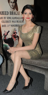 Urvashi Rautela Smooth Legs In Short Skirt