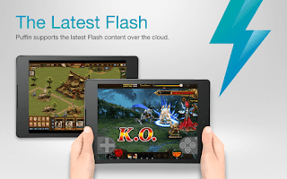 Puffin Browser Support Flash