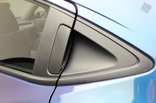 Honda HR-V rear door handle