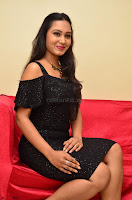 South Actress Amulya in short black dress at Kalamandir Foundation 7th anniversary Celebrations ~  Actress Galleries 041.JPG