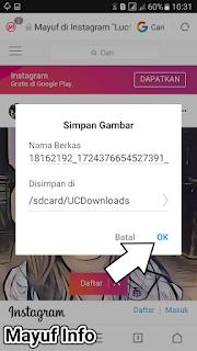 Cara Simpan/Download Foto Di Instagram Tanpa Aplikasi Terbaru