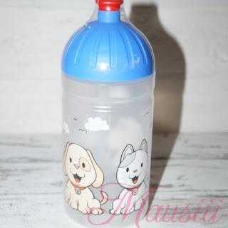 Trinkflasche verpackt