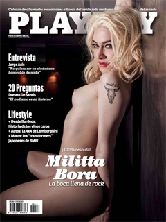 Revista Playboy Argentina-Julio 2015 PDF Digital