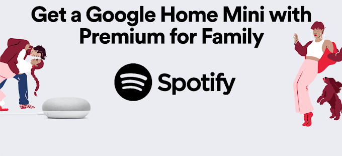 Get a Google Home Mini and two months of Spotify Premium for just $1