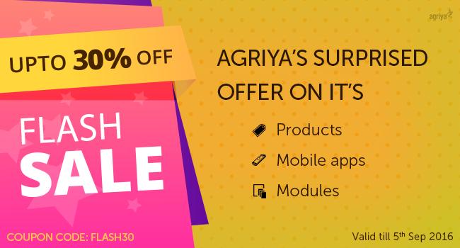 Agriya Discounts 2016